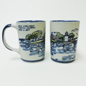 Cross Over Lighthouse Mug