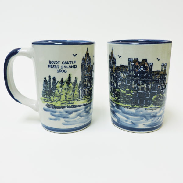 Boldt Castle Heart Island Mug