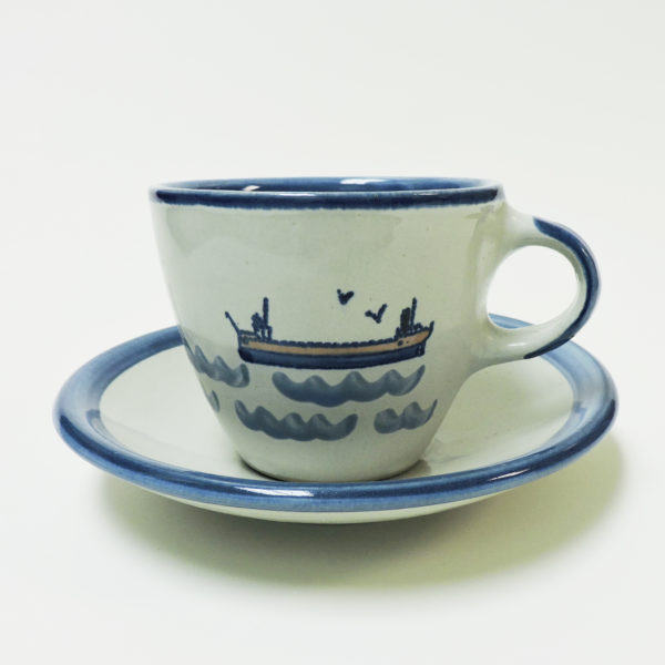 Great Lakes Laker Cup and Saucer