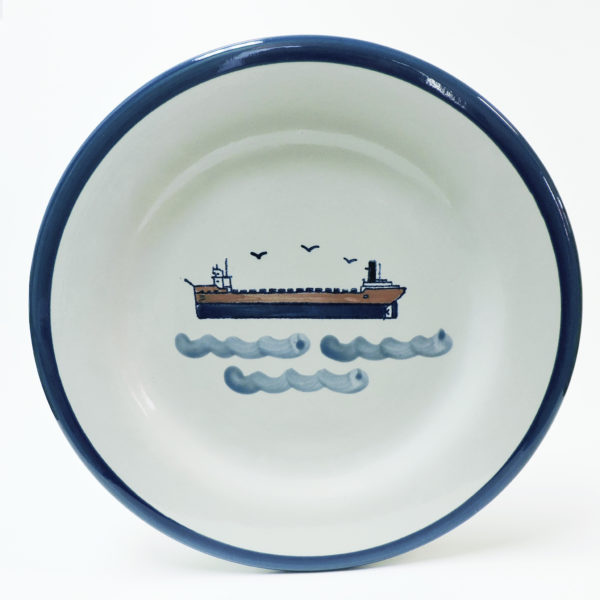 "Great Lakes Laker 11"" Plate."