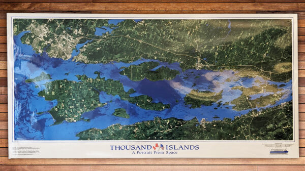 Thousand Islands From Space