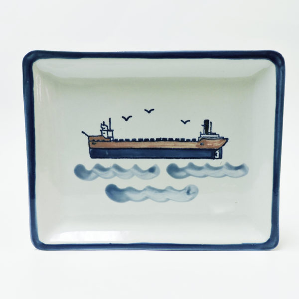Great Lakes Laker Small Snack Tray.