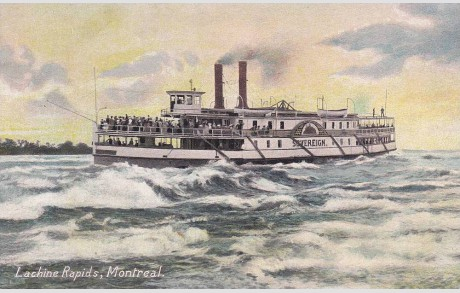 SOVEREIGN on the Lachine Rapids