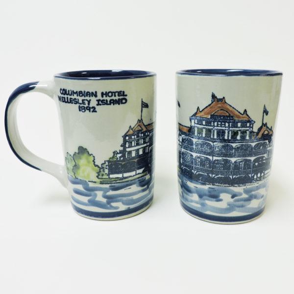 Columbian Hotel Wellesley Island Mug