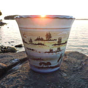 1000 Islands Sunset Stoneware