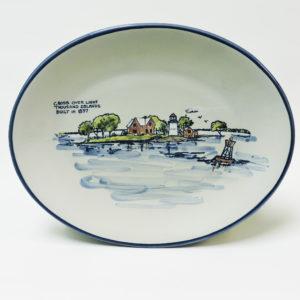 Crossover Lighthouse Platter