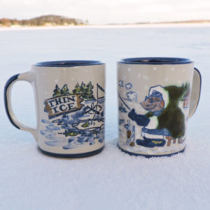 River Rat Ice Fishing Mug