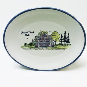 T.I. Park Cottage 12 Inch Oval Platter
