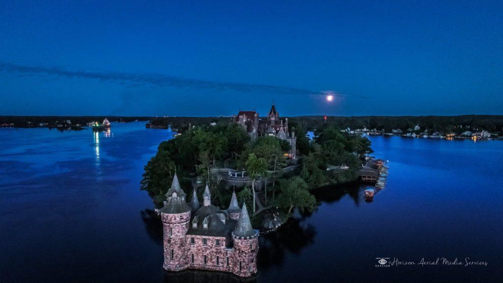 Boldt Castle Horizon