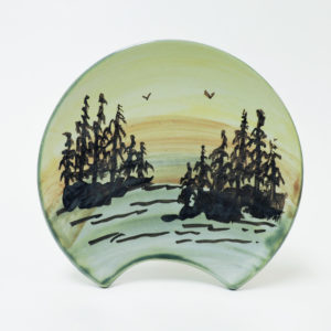 1000 Islands Sunset Spoon Rest (Island Scene)