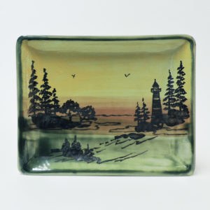 1000 Islands Sunset Small Snack Tray