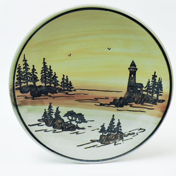 1000 Islands Sunset 11″ Dinner Plate (Lighthouse Scene)