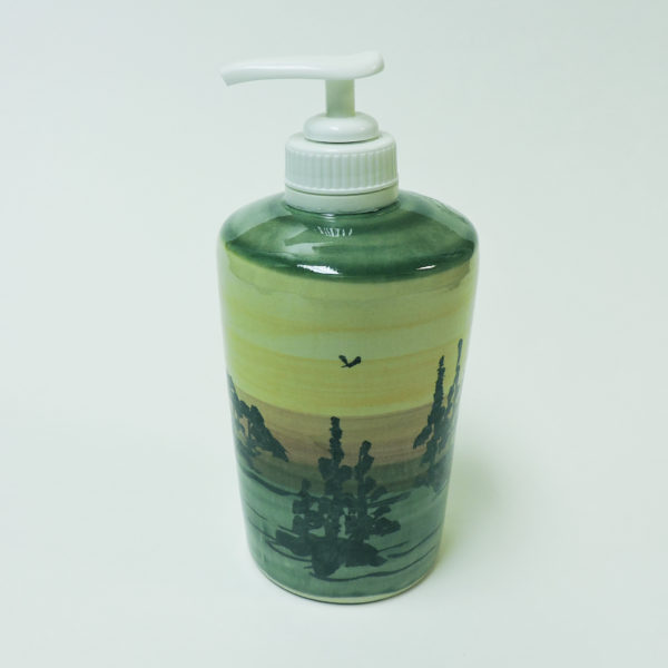 1000 Islands Sunset Stoneware Lotion Dispenser