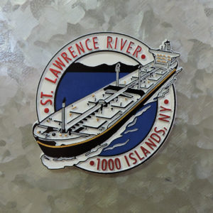St. Lawrence River Ship Magnet