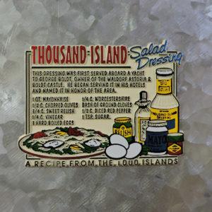 Thousand Islands Dressing Magnet.