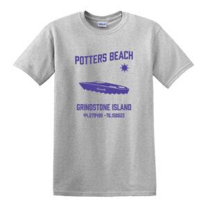potters beach tee