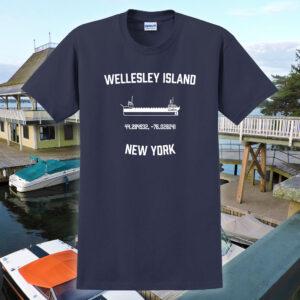 wellesley island tee shirt