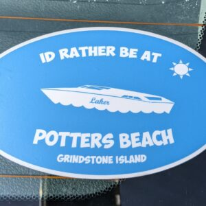 potters beach sticker